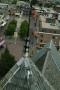 Raalte : de Plaskerk bevestiging torenkruis met bliksemafleiders