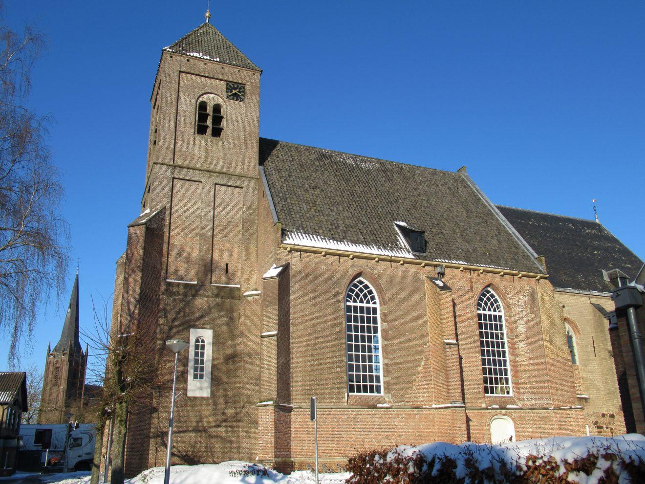 Raalte Wintersfeer Plaskerk en Basiliek 10-02-21